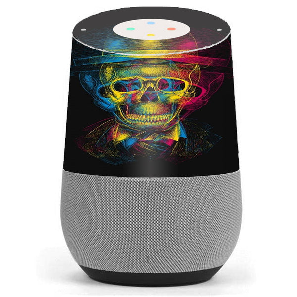 Skeleton In Derby Hat Google Home Skin