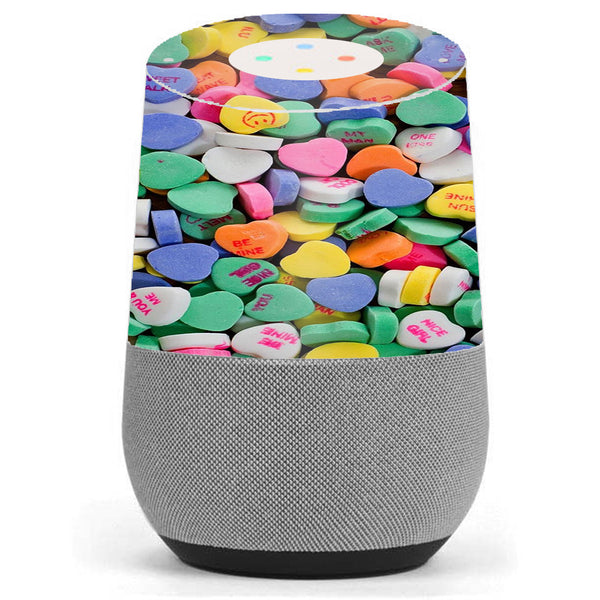Heart Candy, Valentines Candy Google Home Skin