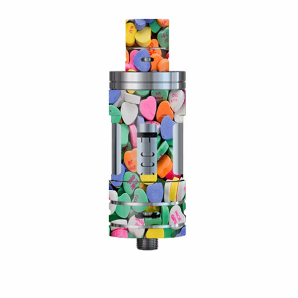 Heart Candy, Valentines Candy Smok TFV4 Tank Skin