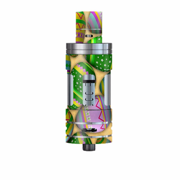 Easter Eggs Painted Smok TFV4 Tank Skin