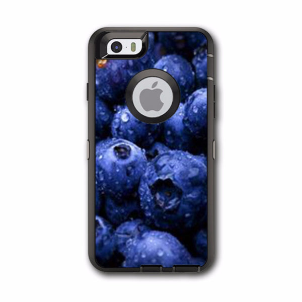 Blueberry, Blue Berries Otterbox Defender iPhone 6 Skin
