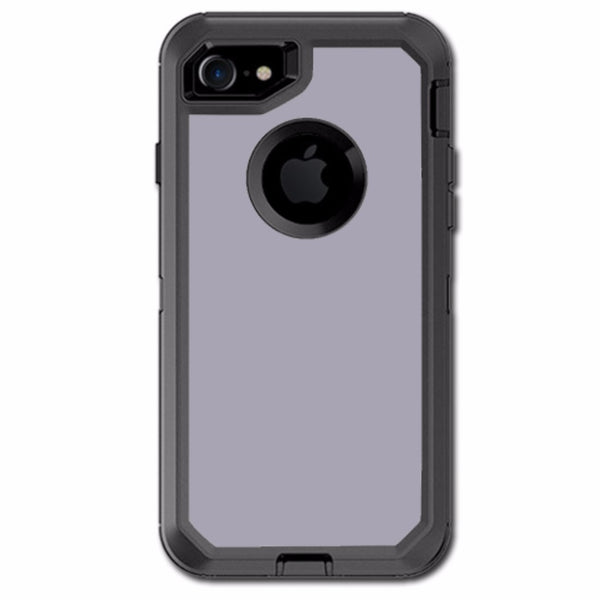 Solid Gray Otterbox Defender iPhone 7 or iPhone 8 Skin