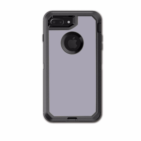 Solid Gray Otterbox Defender iPhone 7+ Plus or iPhone 8+ Plus Skin