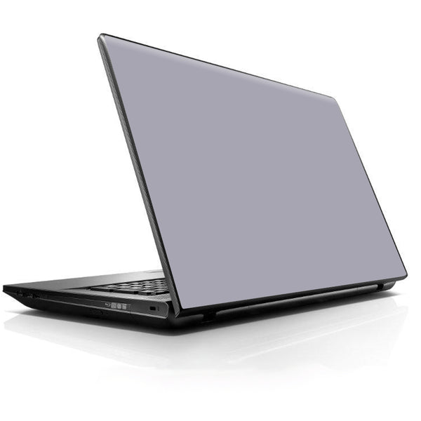 Solid Gray Universal 13 to 16 inch wide laptop Skin