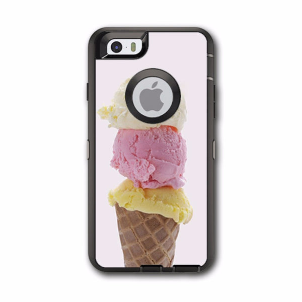 Ice Cream Cone Otterbox Defender iPhone 6 Skin