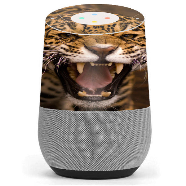 Jaguar Growling Google Home Skin
