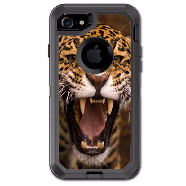 Jaguar Growling Otterbox Defender iPhone 7 or iPhone 8 Skin