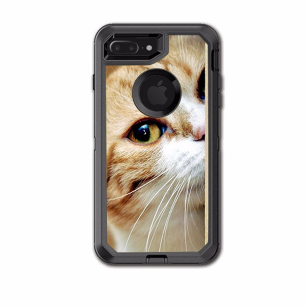 Cat Lomo Style Otterbox Defender iPhone 7+ Plus or iPhone 8+ Plus Skin
