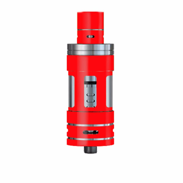 Solid Red Color Smok TFV4 Tank Skin