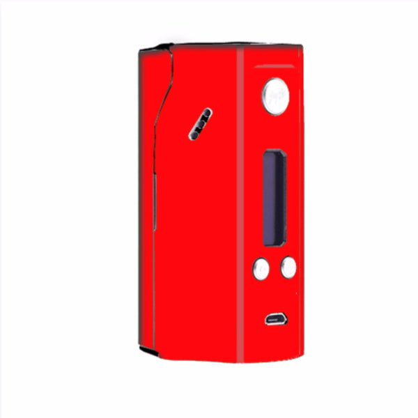 Solid Red Color Wismec Reuleaux RX200  Skin