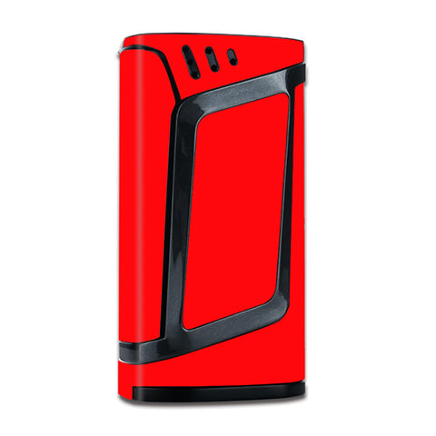 Solid Red Color Smok Alien 220W Skin