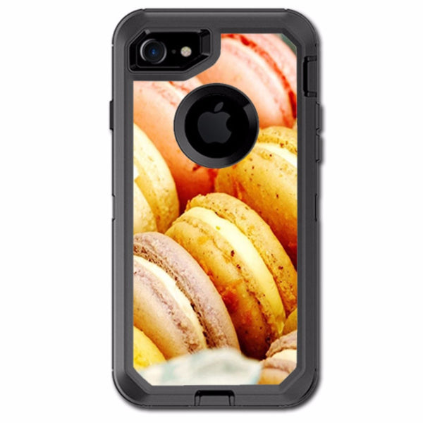 Macaroon Cookies Pastry Otterbox Defender iPhone 7 or iPhone 8 Skin