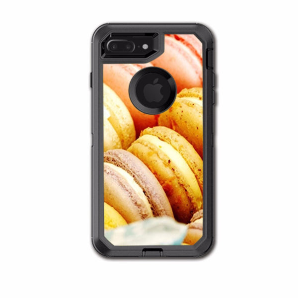 Macaroon Cookies Pastry Otterbox Defender iPhone 7+ Plus or iPhone 8+ Plus Skin