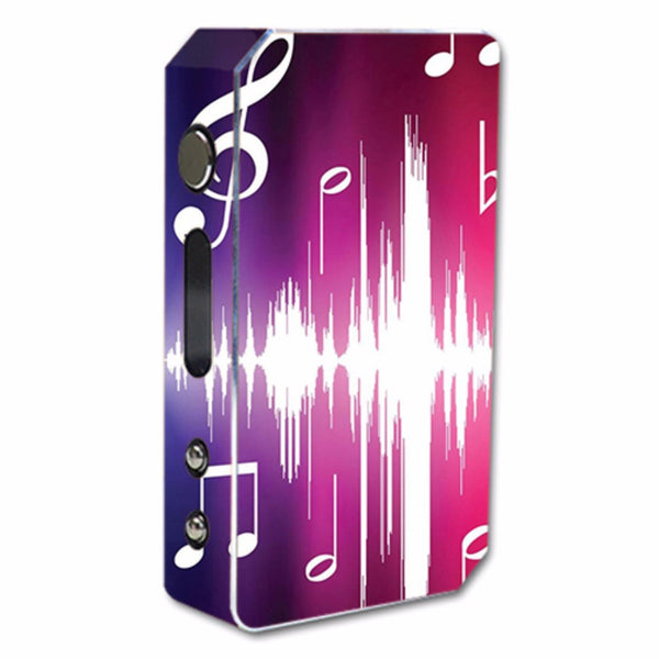 Music Notes Glowing Pioneer4You ipv3 Li 165W Skin