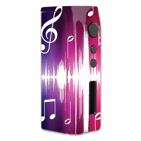 Music Notes Glowing Pioneer4You iPVD2 75W Skin