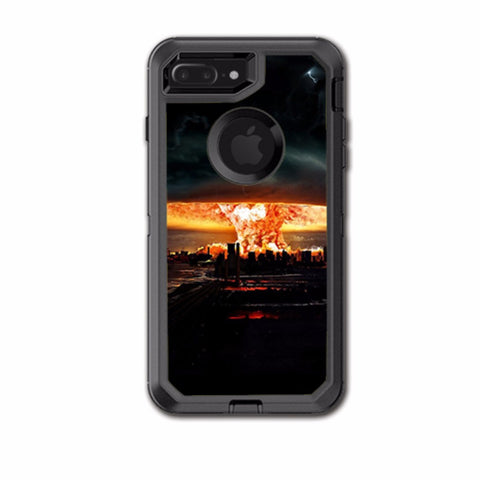 Mushroom Cloud, Atom Bomb Otterbox Defender iPhone 7+ Plus or iPhone 8+ Plus Skin