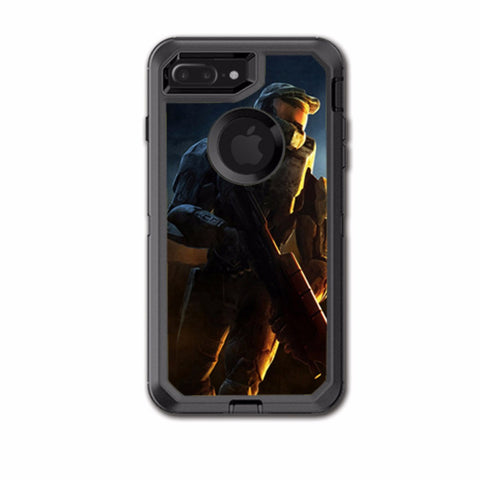 Soldier In Battle Otterbox Defender iPhone 7+ Plus or iPhone 8+ Plus Skin