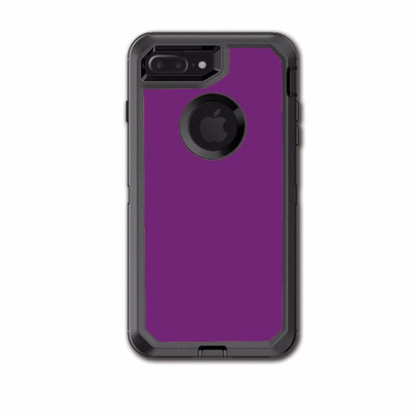 online store e5809 68e89 Purple Muted Otterbox Defender iPhone 7+ Plus or iPhone 8+ Plus Skin