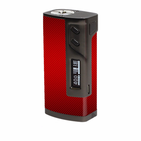 Red Carbon Fiber Graphite Sigelei 213W Skin
