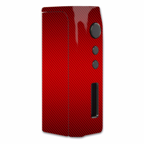Red Carbon Fiber Graphite Pioneer4You iPVD2 75W Skin