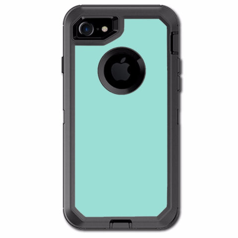 Seafoam Green Otterbox Defender iPhone 7 or iPhone 8 Skin