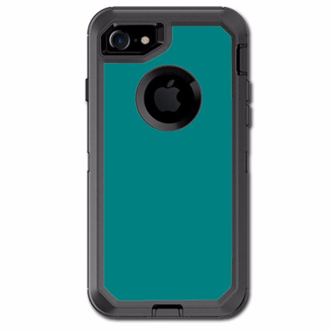 Teal Color Otterbox Defender iPhone 7 or iPhone 8 Skin
