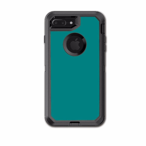Teal Color Otterbox Defender iPhone 7+ Plus or iPhone 8+ Plus Skin