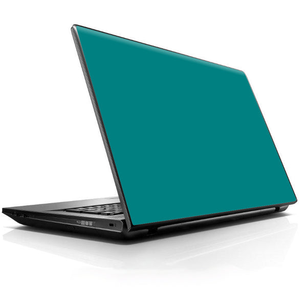 Teal Color Universal 13 to 16 inch wide laptop Skin