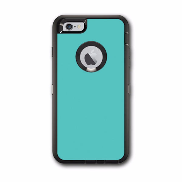 quality design 03e61 60938 Turquoise Color Otterbox Defender iPhone 6 PLUS Skin