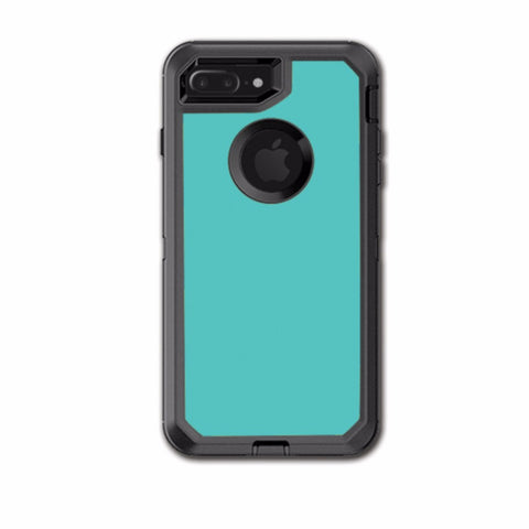 Turquoise Color Otterbox Defender iPhone 7+ Plus or iPhone 8+ Plus Skin