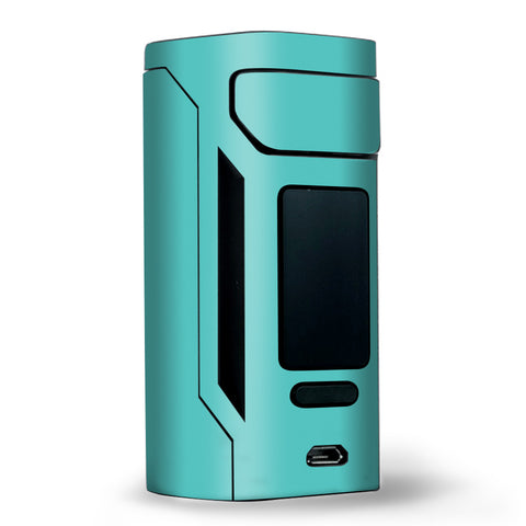 Turquoise Color Wismec RX2 20700 Skin