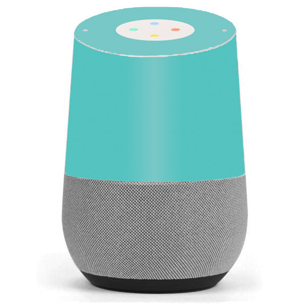 Turquoise Color Google Home Skin
