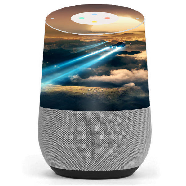 Speed Of Sound At Sunset Google Home Skin