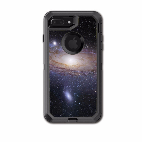 new style 44936 3189b Solar System Milky Way Otterbox Defender iPhone 7+ Plus or iPhone 8+ Plus  Skin
