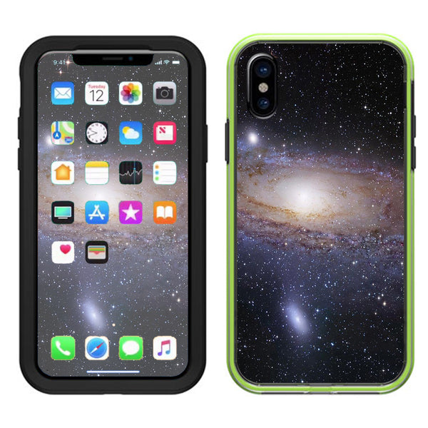 reputable site d534d d61ae Solar System Milky Way Lifeproof Slam Case iPhone X Skin