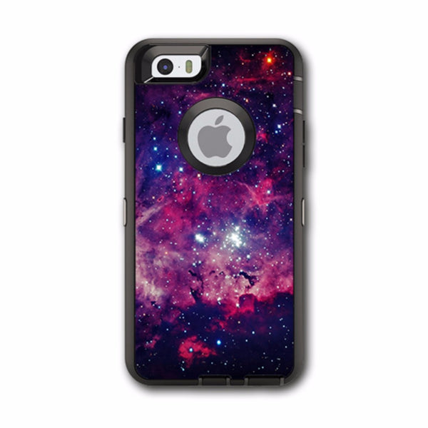 Space Clouds At Night Otterbox Defender iPhone 6 Skin