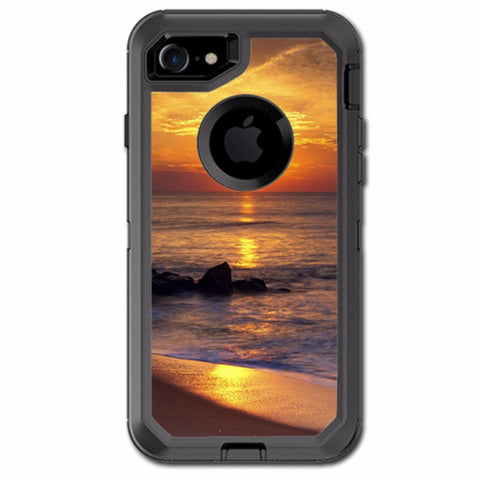 Sunrise On The Coast Otterbox Defender iPhone 7 or iPhone 8 Skin