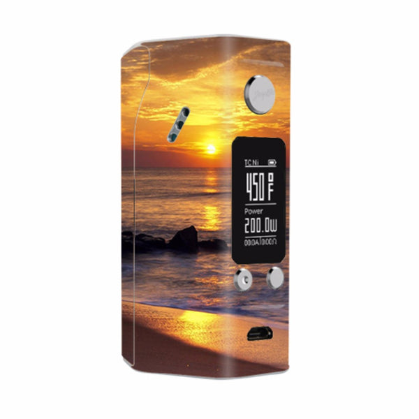 Sunrise On The Coast Wismec Reuleaux RX200S Skin