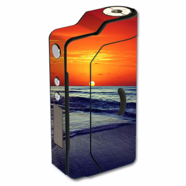 October Sunset On Beach Sigelei 150W TC Skin