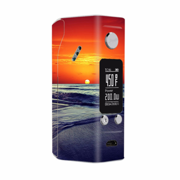October Sunset On Beach Wismec Reuleaux RX200S Skin