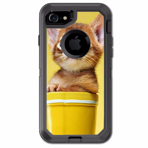 Cute Meng Kitten Otterbox Defender iPhone 7 or iPhone 8 Skin