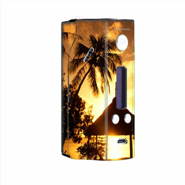 Tropical Sunrise Over Cabana Wismec Reuleaux RX200  Skin