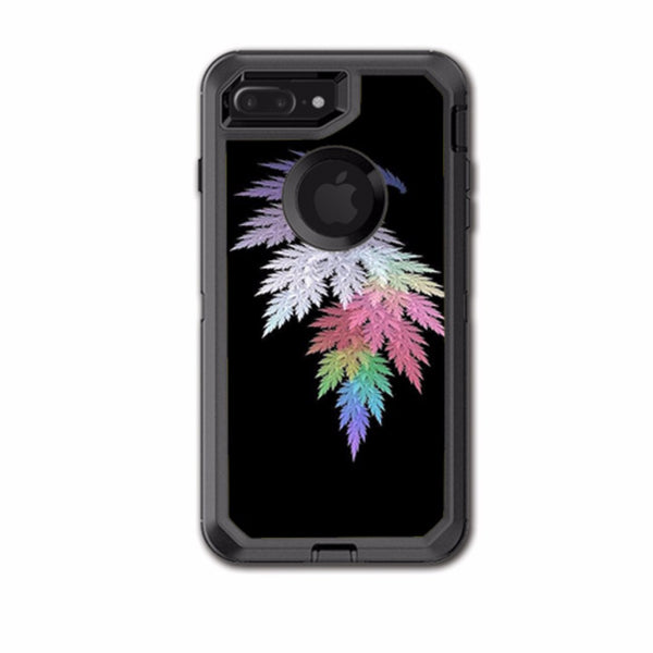 sports shoes 5473d e4c98 Leaves In Muted Color Otterbox Defender iPhone 7+ Plus or iPhone 8+ Plus  Skin