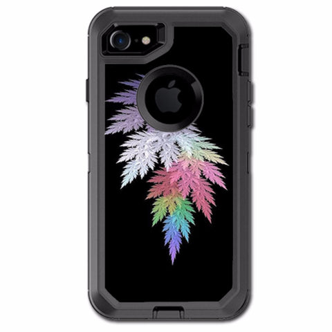 Leaves In Muted Color Otterbox Defender iPhone 7 or iPhone 8 Skin