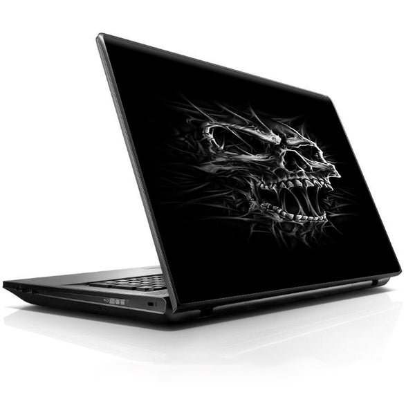 Skull Evil Stretch Slash Screaming Universal 13 to 16 inch wide laptop Skin