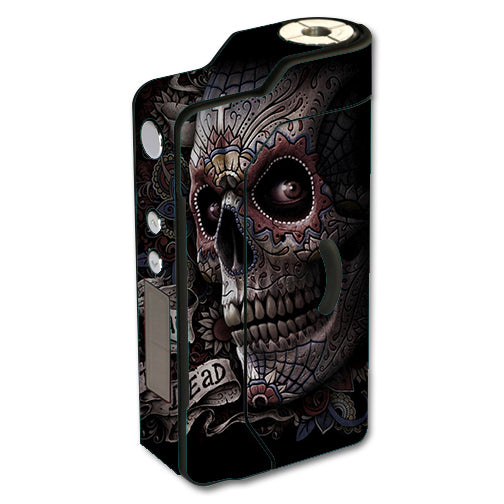 Day Of The Dead Skull Sigelei 150W TC Skin