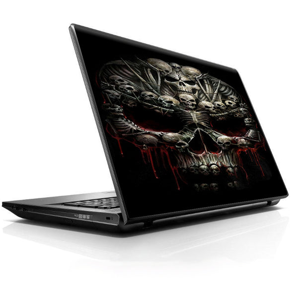Skulls Inside Skulls Art Universal 13 to 16 inch wide laptop Skin