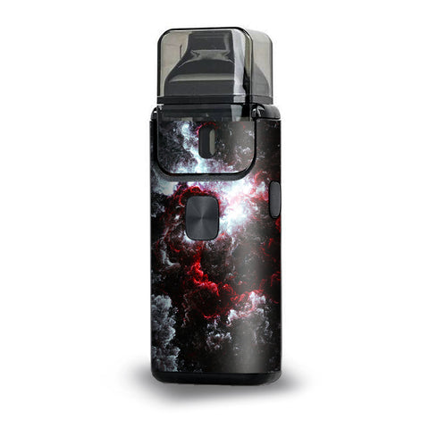 Universe Red White  Aspire Breeze 2 Skin