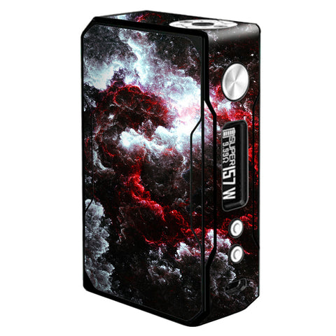 Universe Red White  Voopoo Drag 157w Skin