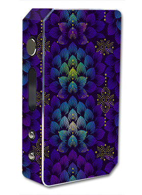 Floral Feather Pattern Pioneer4You ipv3 Li 165W Skin